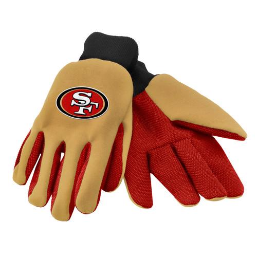 NFL Unisex Utility Gloves - San Francisco 49ers