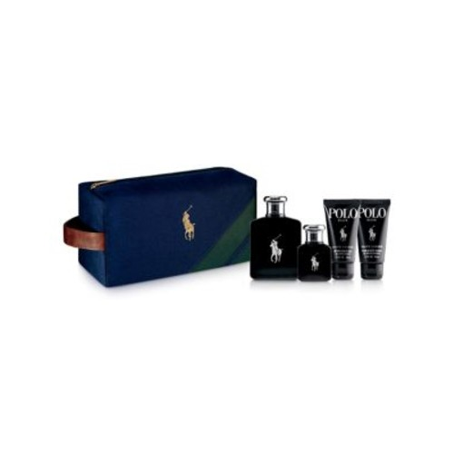 Four-Piece Black Travel Kit Gift Set- $164.00 Value