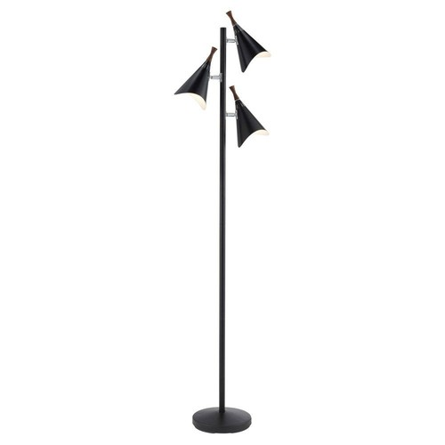 Draper Floor Lamp, Black