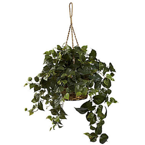 Nearly Natural Philo Hanging Basket