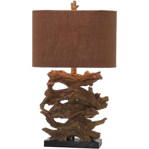 Safavieh Indoor 1-light Brown Forester Table Lamp (Set of 2)