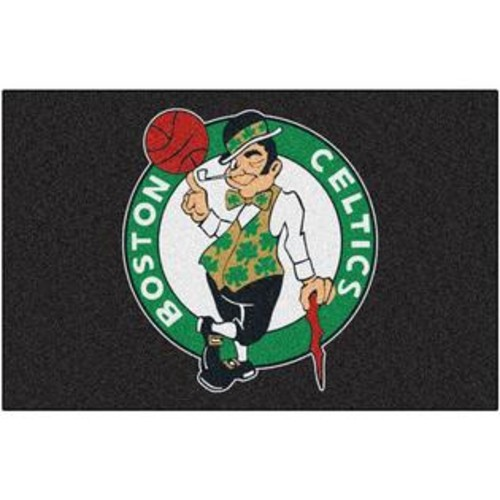 FANMATS BOSTON CELTICS STARTER RUG