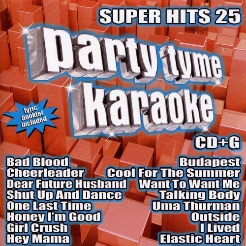 Party Tyme Karaoke: Super Hits, Vol. 25 [CD + G]