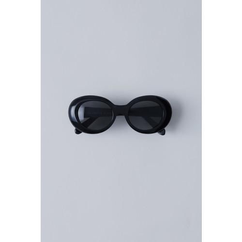Oval eyewear black