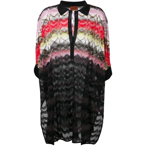 MISSONI Polo Collar Knit Tunic