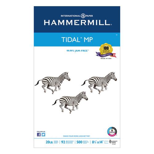 Hammermill HAM162016 Tidal MP Copy Paper, 92 Brightness, 20lb, 8-1/2 x 14, White, 500 Sheets/Ream