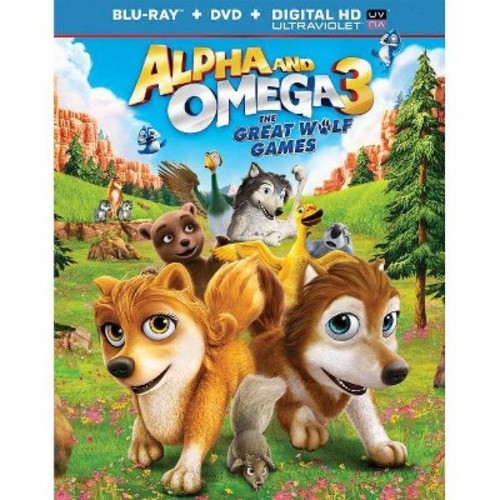 Alpha And Omega 3: The Great Wolf Games (Blu-ray Disc)