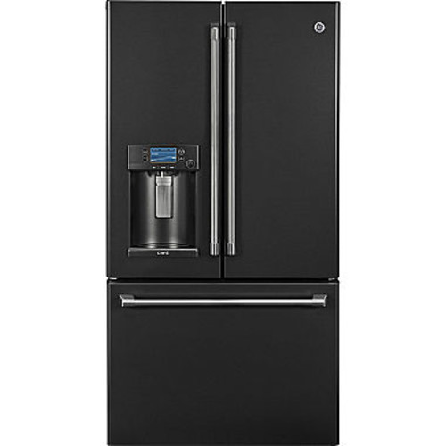 GE CFE28UELDS Cafe Series ENERGY STAR 27.8 Cu. Ft. French-Door Refrigerator with Keurig K-Cup Brewing System