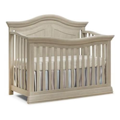 Sorelle Providence 4-in-1 Convertible Crib in Heritage Fog
