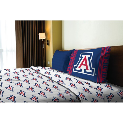 NCAA Twin Bedsheet Set - University of Arizona Wildcats