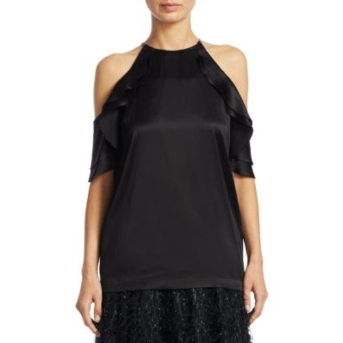 BRUNELLO CUCINELLI Silk Halterneck Top