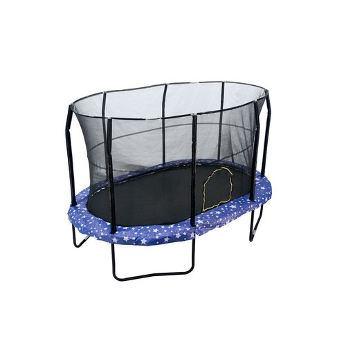 JUMPKING 9 ft. by 14 ft. American Star Trampoline Enclosure Combo