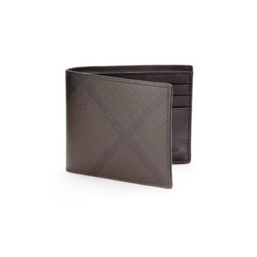 BURBERRY Plaid Hipfold Wallet