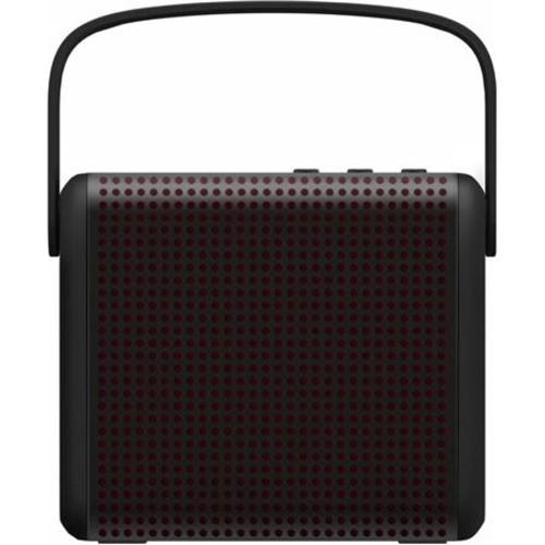 MiPow Boomax Bluetooth 4.0 Speaker, Single, Black BTS-1000-BK
