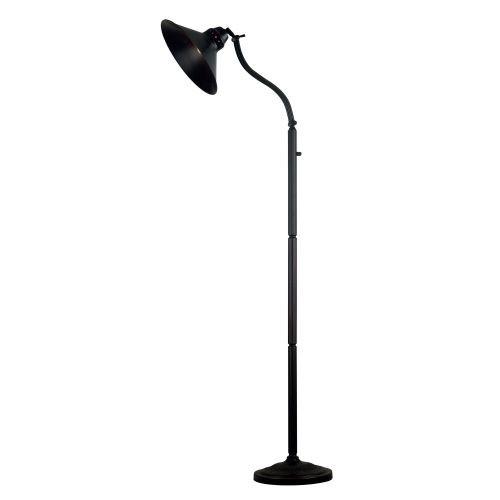 Kenroy Home Amherst 1-Light 72 in. Oil-Rubbed Bronze Adjustable Floor Lamp