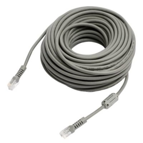 REVO R100RJ12C 100' RJ12 Cable With Coupler, Gray