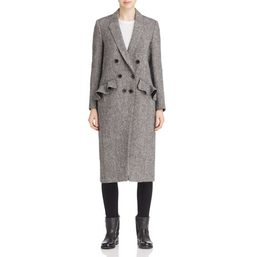 BURBERRY Trentwood Double-Breasted Wool Coat