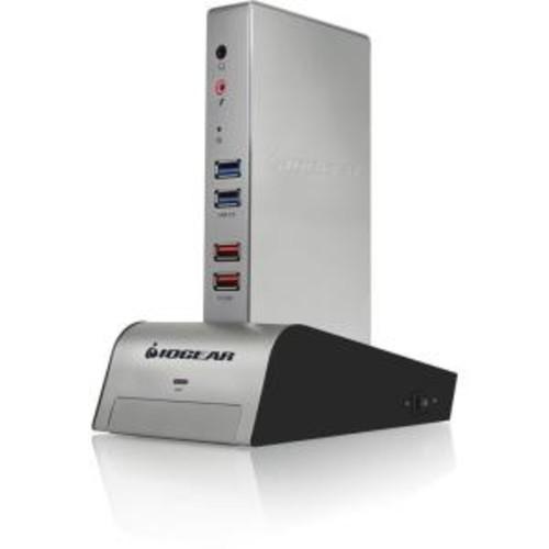 IOGEAR met(AL) Vault Dock, USB 3.0 Docking Station with built-in Backup Drive Enclosure