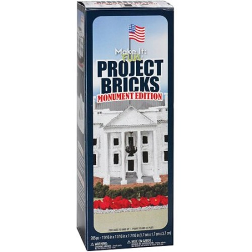 FloraCraft Monumnet Edition Project White Foam Bricks