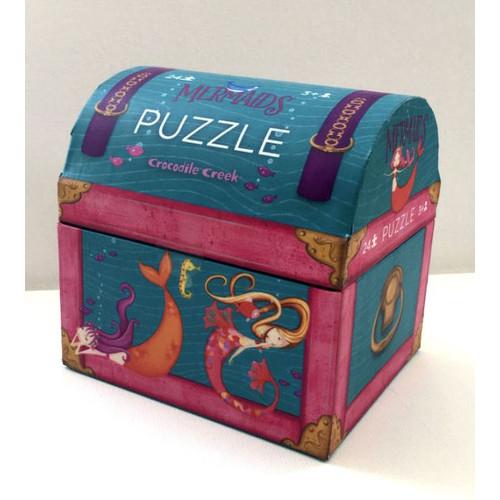 Mini Mermaid Trunk Puzzle - 24 Pc Puz