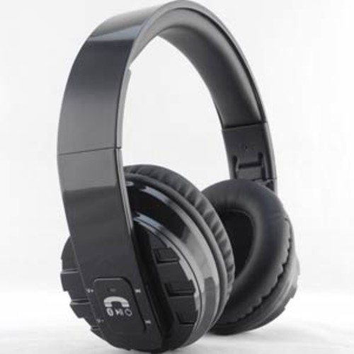 Inland Bluetooth Foldable Stereo Headset - Black