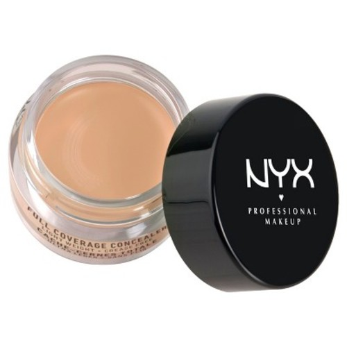 NYX Cosmetics Concealer Jar, Medium, 0.21 Ounce [Medium, 0.25 Ounce]