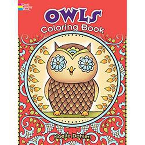 Dover Creative Haven Owls Publications Coloring Book