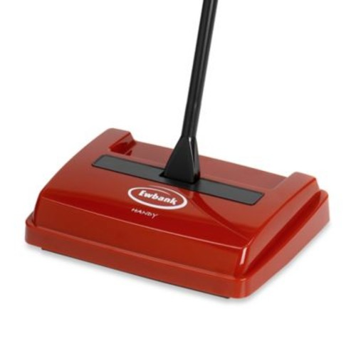Ewbank Handy Bagless Floor and Carpet Sweeper in Red