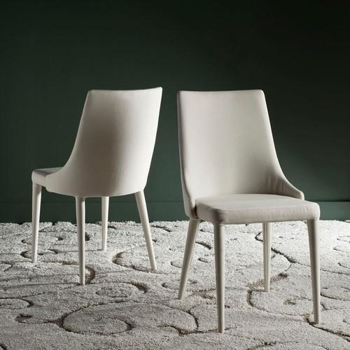 Safavieh Summerset Linen Beige Side Chair (Set of 2) [Safavieh Summerset Linen Beige Side Chair Set of 2]