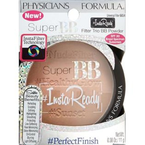 Physicians Formula Super BB Insta Ready Filter Trio Powder, Universal, 0.38 O...