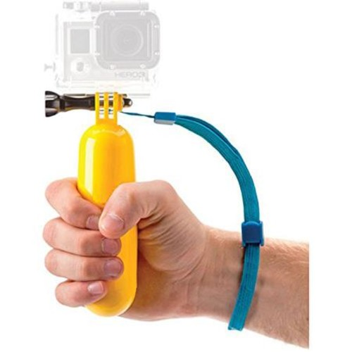 Polaroid Floating Hand Grip for GoPro HERO4, 3+ and 3 Cameras PLGPFM