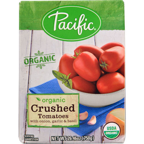 Pacific Natural Foods Organic Crushed Tomatoes -- 26.46 oz