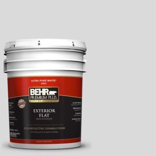 BEHR Premium Plus 5-gal. #790E-1 Subtle Touch Flat Exterior Paint