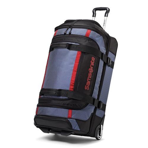 Samsonite Luggage 26 Inch Ripstop Wheeled Duffel [Blue]
