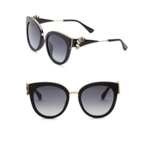 JIMMY CHOO Jade Oversize Sunglasses & Crystal Clip-On Ear Climbers