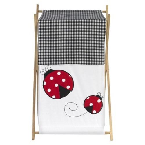 Sweet Jojo Designs Polka Dot Ladybug Laundry Hamper