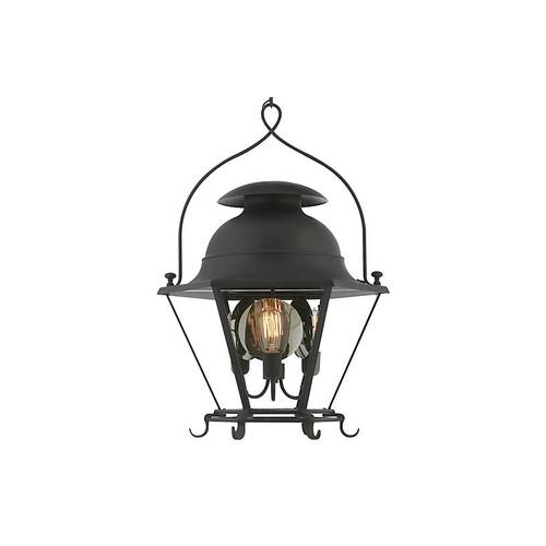 Cranbrook Small Lantern, Black Rust