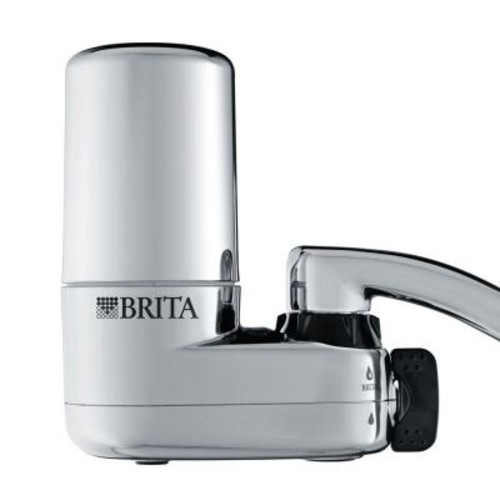 Brita On Tap Faucet Filtration System in Chrome