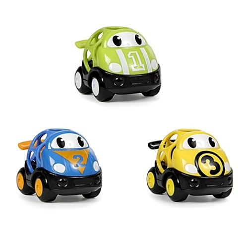 Kids II Go Grippers 3-Pack Race Cars