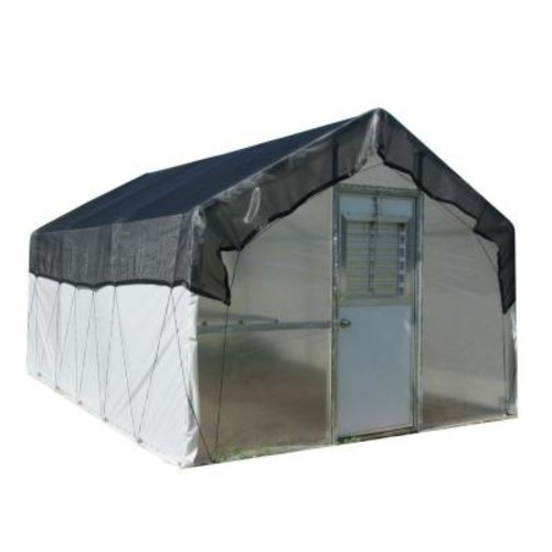 Riverstone 10 ft. x 27 ft. Carver Premium Commercial Greenhouse