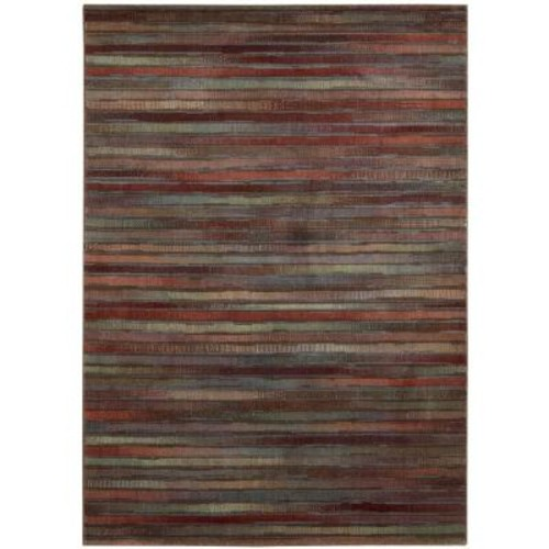 Nourison Expressions Multicolor 5 ft. 3 in. x 7 ft. 5 in. Area Rug