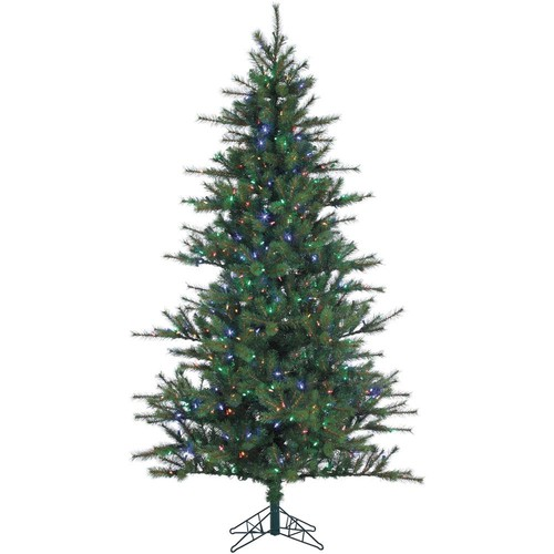Fraser Hill Farm 12 ft. Pre-Lit LED Southern Peace Pine Artificial Christmas Tree with 1950 Multi-Color String Lights