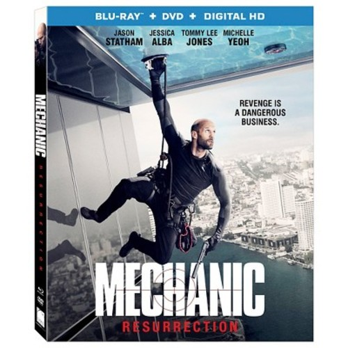 Mechanic Resurrection (Blu-ray + DVD + Digital)