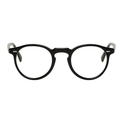 Black Gregory Peck Glasses