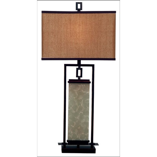 Kenroy Home 30740ORB - Plateau Table Lamp Oil Rubbed Bronze Finish