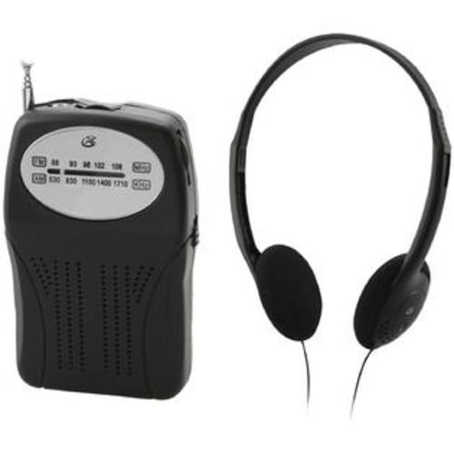 Gpx R116b Portable Am/fm Radio