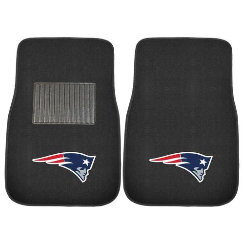 FANMATS New England Patriots 2-Piece Car Floor Mat Set
