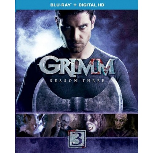 Grimm: Season Three (4 Discs) (Includes Digital Copy) (UltraViolet) (Blu-ray)