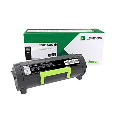 Lexmark 51B1X00 Extra-High-Yield Return Program Black Toner Cartridge