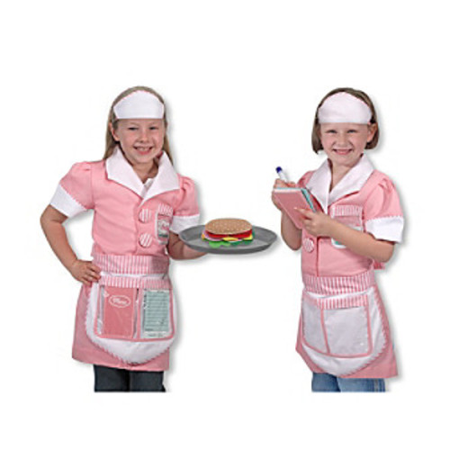 Melissa & Doug Waitress Role Play Costume Set
